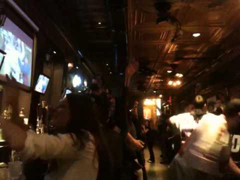 New York Giants Fans Celebrate Going To Super Bowl XLVI