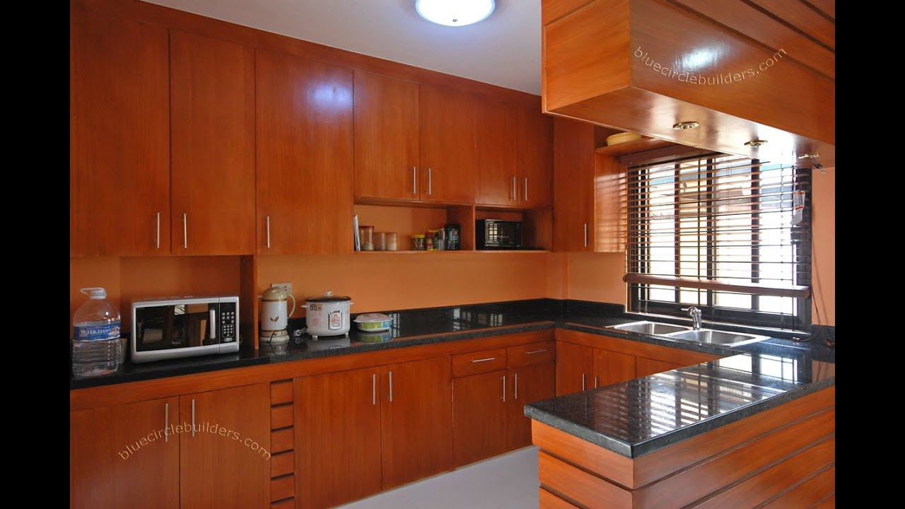 Kitchen cupboards designs youtube Wooden house kitchen design