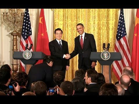 President Obama and President Hu Press Conference