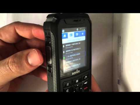 Démonstration Sonim XP5 avec fonction PTT Bell Mobilité