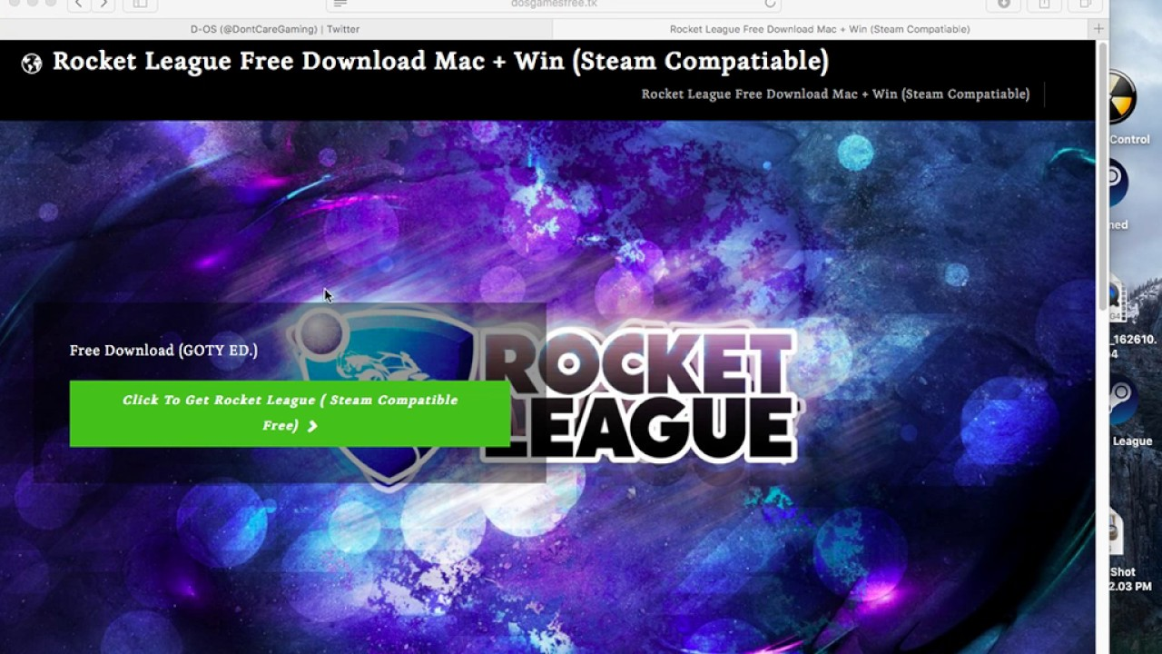 Rocket League GOTY Ed  Free Download Steam (OSX And Windows)