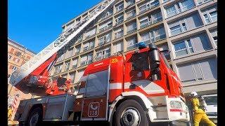 Pompiers Genève - Incendie dans un sous-sol à Genève