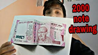 Drawing 2000 note by colorpencils
