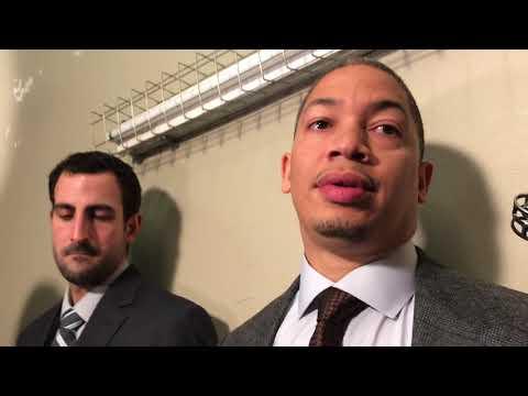 Tyronn Lue questions Cavaliers