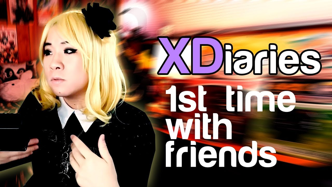 My First Time Crossdressing In Front Of Friends  Xdiaries -3389