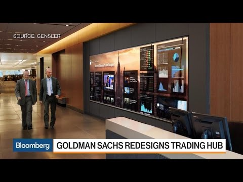 Goldman Sachs Tears Down Walls in Redesign of Trading Hub
