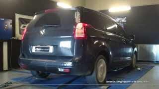 Reprogrammation Moteur Peugeot 5008 hdi 150cv @ 184cv Digiservices Paris 77183 Dyno