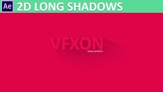 After Effects 2D Long Shadows Tutorial