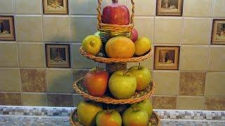 ваза фруктовница своими руками.  Часть 2