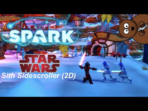 Project Spark: Star Wars – Sith Sidescroller (2D) Ver. 1.21