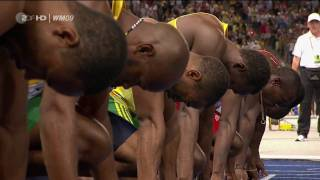 Download Video 100m Sprint Men Finals Usain Bolt  {Berlin 2009 } [HD] MP3 3GP MP4