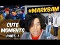 MARKBAM CUTE MOMENTS PART 1   GOT7 REACTION