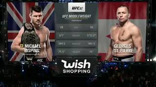 Georges St-Pierre vs Michael Bisping thumbnail