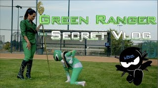 Green Ranger Secret Vlog! Power Rangers Ninja Kidz!
