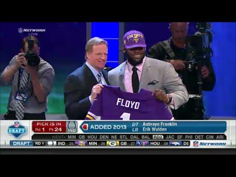 2013 NFL Draft Rd 1 Pk 23 | Minnesota Vikings Select DT Sharrif Floyd