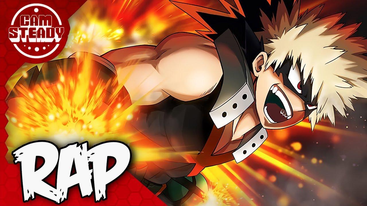 "Download BAKUGOU RAP SONG   ""BLOW UP!""   Cam Steady feat. Fabvl [MHA]"