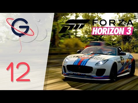 FORZA HORIZON 3 FR #12 : Course de rue en JAGUAR 2016 F-TYPE PROJECT 7 !