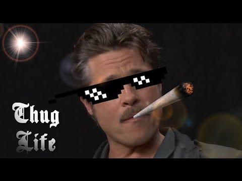 Brad Pitt Thug Life