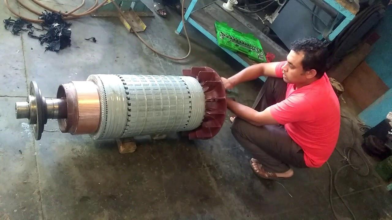 300 HP DC Motor Rewinding
