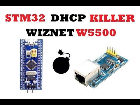 DHCP KILLER STM32 WIZNET W5500