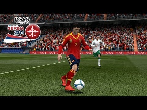 Spain Vs. Bulgaria | Road To World Cup Serbia 2014 | FIFA 13