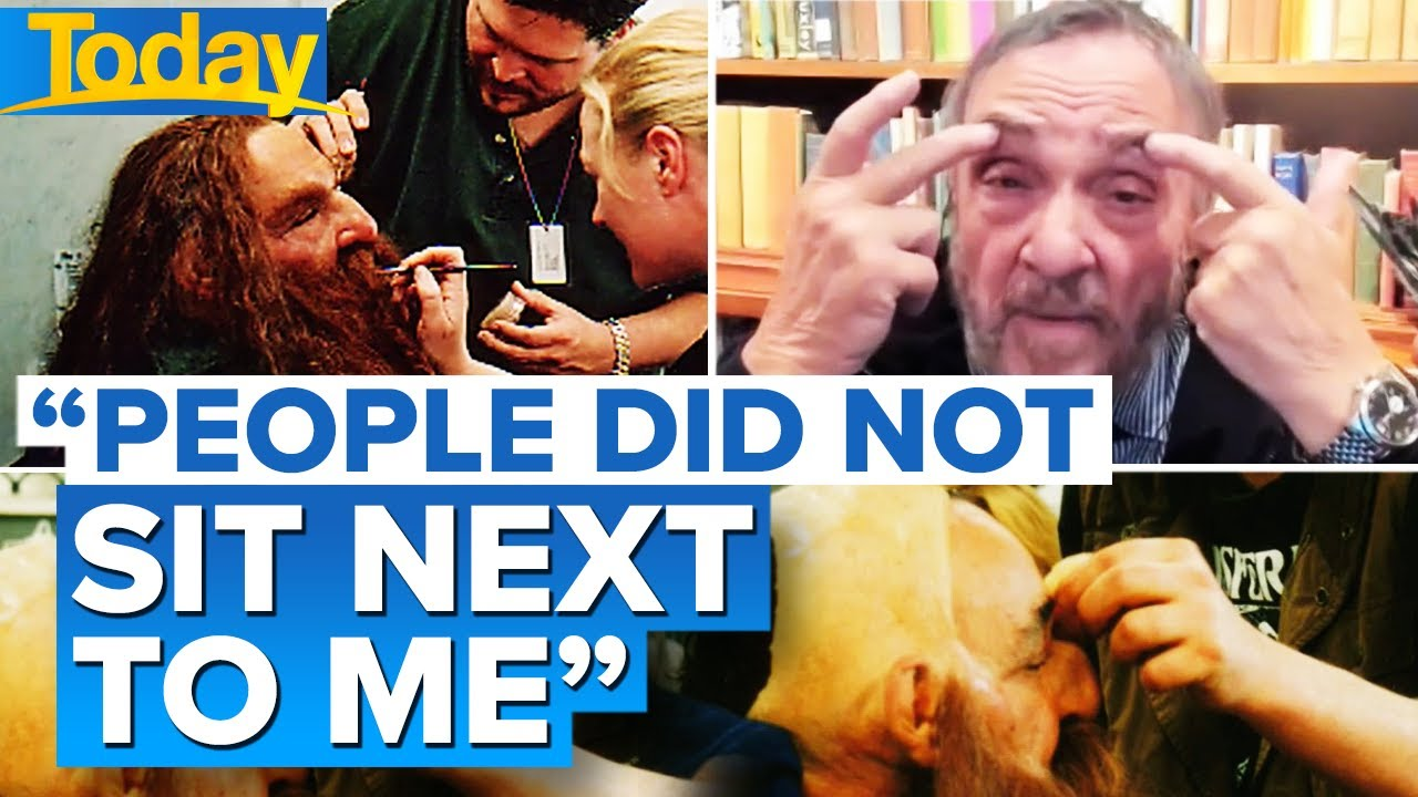 """Lord of the Rings star's makeup routine that saw him """"losing skin"""" 