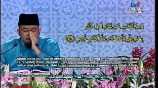 3 PESERTA TERBAIK LELAKI TILAWAH AL QURAN ANTARABANGSA 1436H/2015