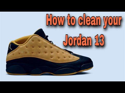 Jordan 13 Cleaning
