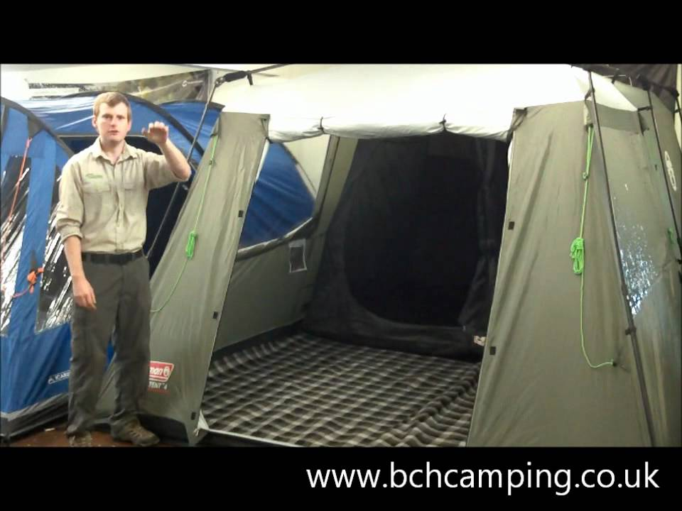 Coleman Instant 4 Tent Www Bchcamping Co Uk Youtube