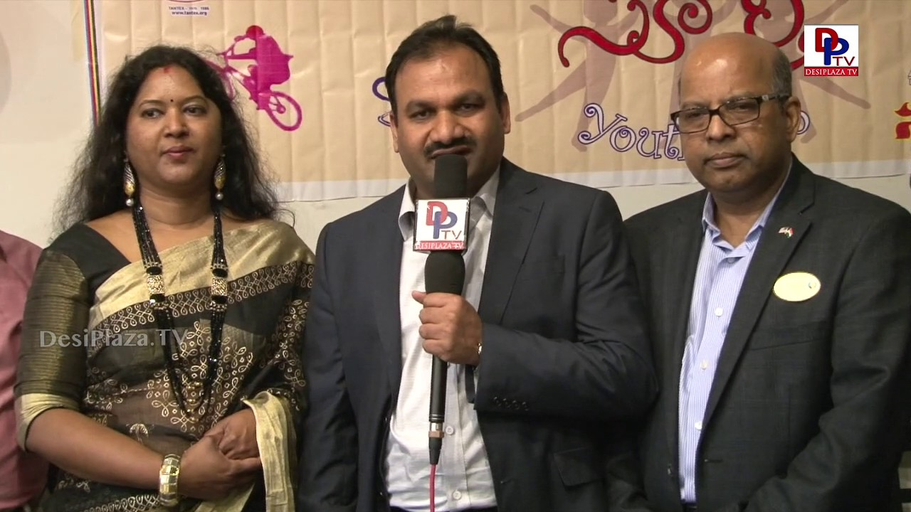 Krishna Reddy Uppalapati speaks to DesiplazaTV at TANTEX International Women's Day Celebrations