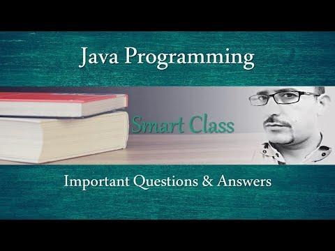 #101 Smart Class: JAVA Programming Language | MCQ | Q&A | PGDCA | BCA | MCA | HPSSSB | Zero2ninE