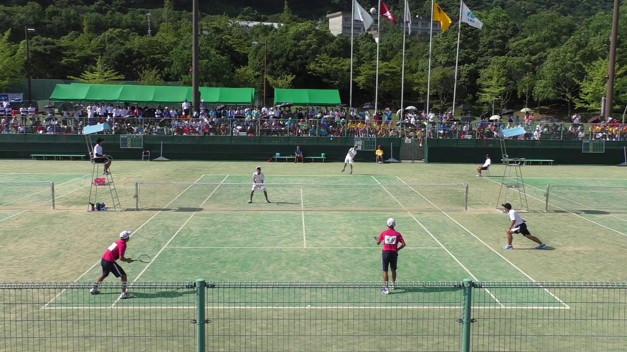 2017 全国中学校ソフトテニス大会 男子個人戦決勝 - YouTube