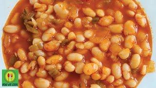 Рецепт фасоли по турецки Kuru fasulye nasıl yapılır Beans in Turkish Recipe