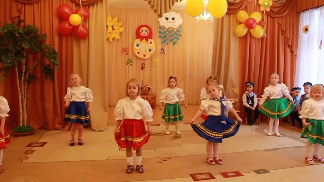 Мы милашки-куклы неваляшки. Танец 4-5 лет - YouTube