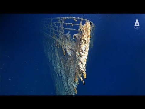 Bob Delmont - First Titanic footage in 14 years! It's deteriorating!