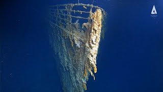 New underwater footage shows Titanic wreck deteriorating