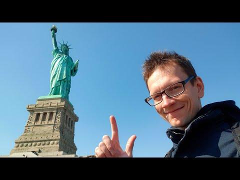 видео: У меня отобрали камеру. Нью Йорк. Статуя Свободы.