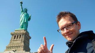 У меня отобрали камеру. Нью Йорк. Статуя Свободы.
