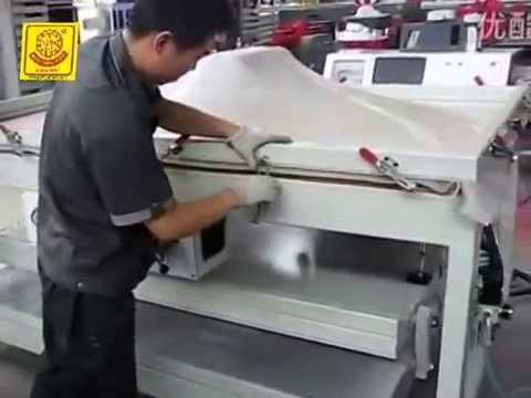 Thermoforming Corian Vacuum Forming Machine With Silicone