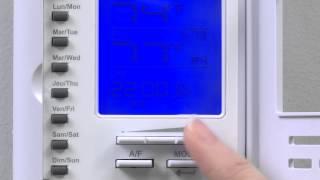 How to program the Schluter®-DITRA-HEAT-E-RSD Thermostat- Fahrenheit