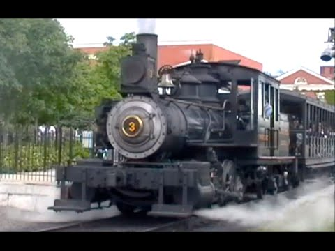 Greenfield Village Steam Train - Henry Ford Museum