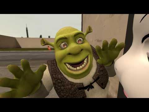 (SFM) Shrek threatens a goat