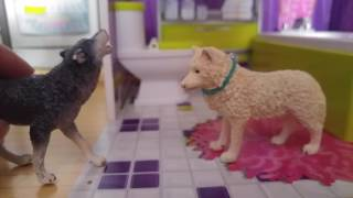 # High school ep.1 #kristina kashytska # wolf toys #ice wolf #dog movie