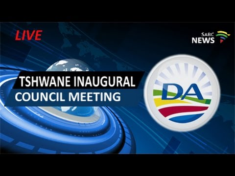 Tshwane Inaugural Council Meeting, 19 August 2016