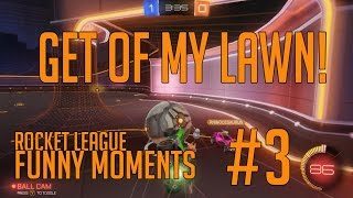 Old Man Teddy - Rocket League Funny Moment #3
