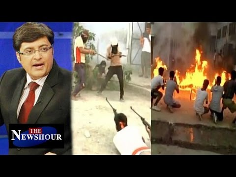 Bajrang Dal Army Training to 'Save Hindus'?: The Newshour Debate (24th May 2016)