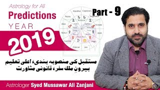 Future Plans, Education, Foreign Travel, Legal Maters 2019 Predictions | Astrology | Urdu | Hindi