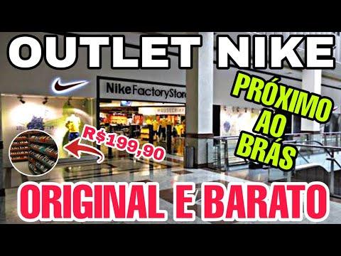 outlet-nike-prÓximo-ao-brÁs-|-tÊnis-original-e-barato