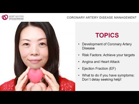 HeartWise Webinar: Coronary Artery Disease, Recovery After Heart Attack and Life-Long Management