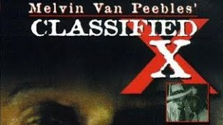 Classified X (1998) | Narrated by Melvin Van Peebles